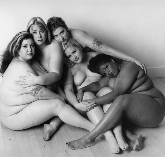 new photography collection featuring fat women posing nude.